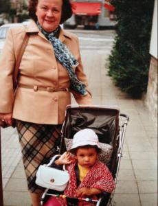 Grandma & me in 1983